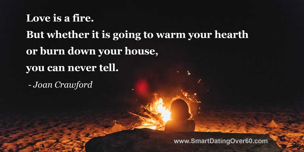 love is a fire joan crawford quote