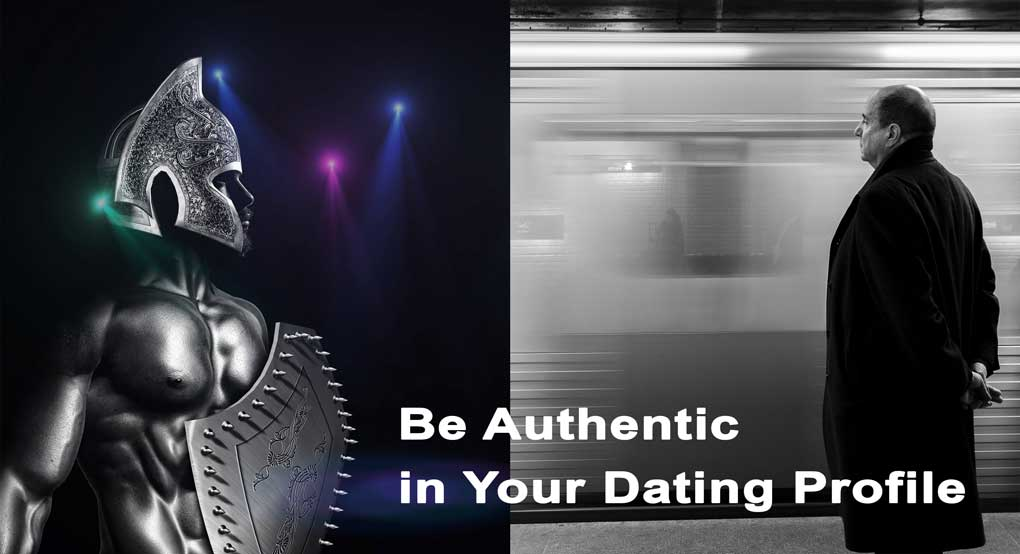 be authentic in your online dating profile