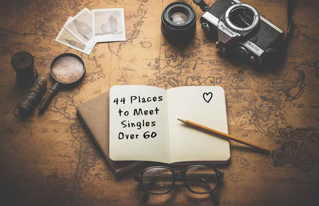 44 places where you can meet singles over 60