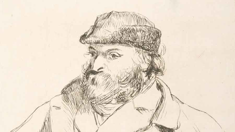 Paul Cezanne successful later in life