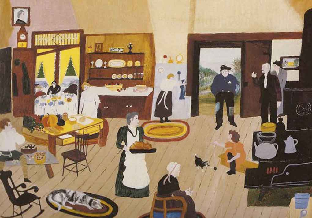Grandma Moses success later in life